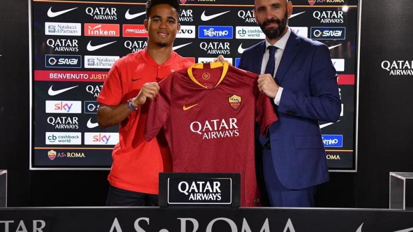 Justin Kluivert ya es nuevo jugador de la Roma