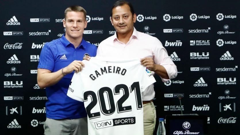 Kevin Gameiro es nuevo jugador del Valencia