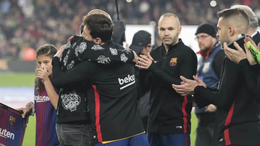 Javier Mascherano: Así fue la emotiva despedida en el Camp Nou