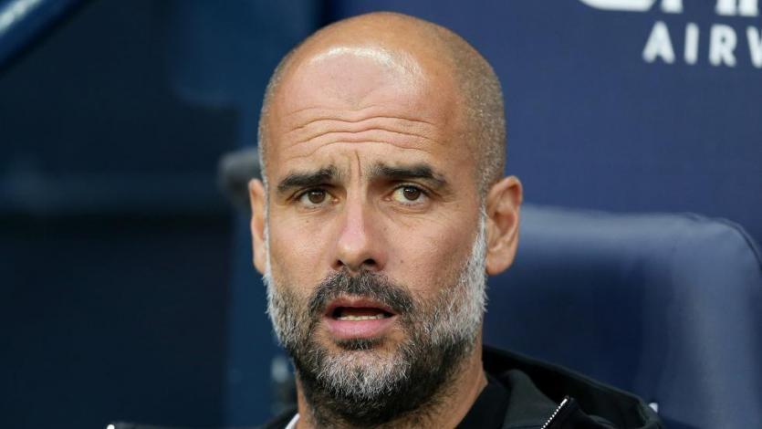 La UEFA sancionó a Pep Guardiola