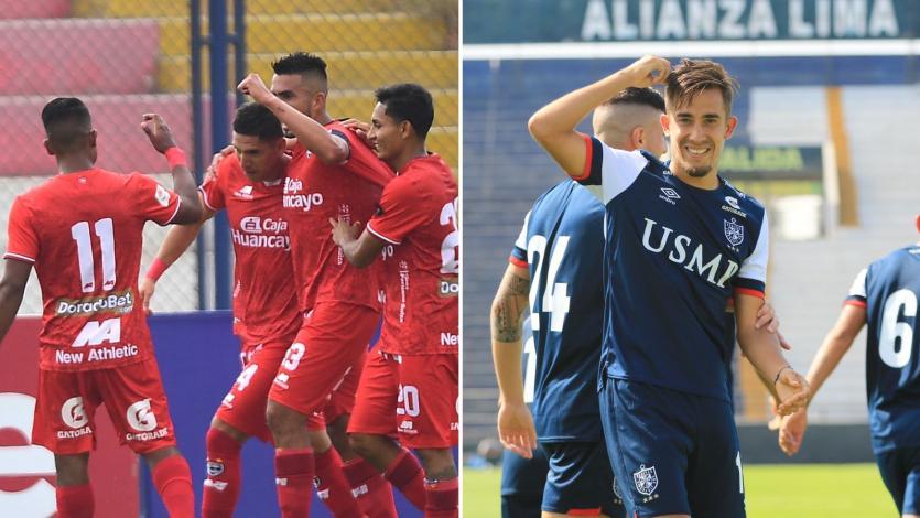 Liga1 Betsson: así formarían Cienciano y Universidad San Martín esta tarde en el Alejandro Villanueva