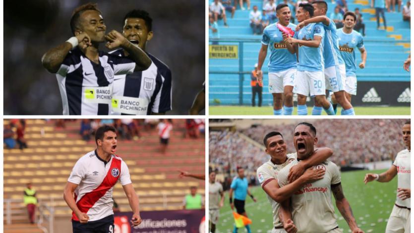 Liga1 Movistar: ¿con qué partes del cuerpo se anotaron los goles del Torneo Apertura?