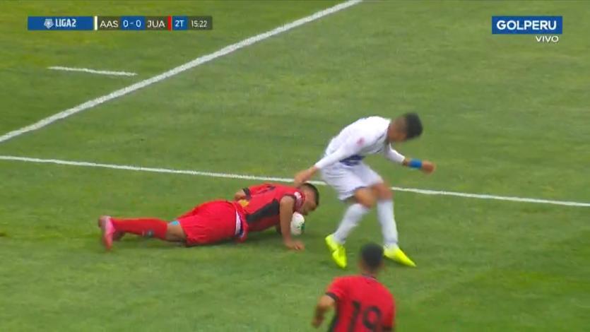 Alianza Atlético vs Juan Aurich: Bryan Otiniano y su valiente defensa con la cabeza en la final (VIDEO)