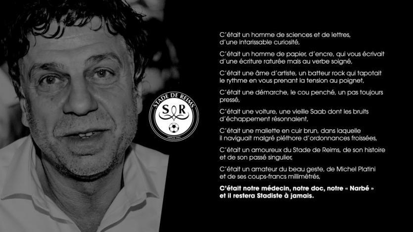 Médico del Stade Reims se suicidó a los 60 años contagiado por el coronavirus