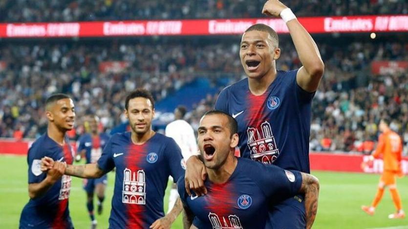 Ligue 1: PSG derrotó al Mónaco y celebró su sexto título de la década
