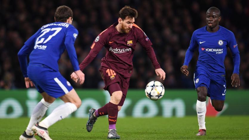 Barcelona y Chelsea chocan en el partido del día
