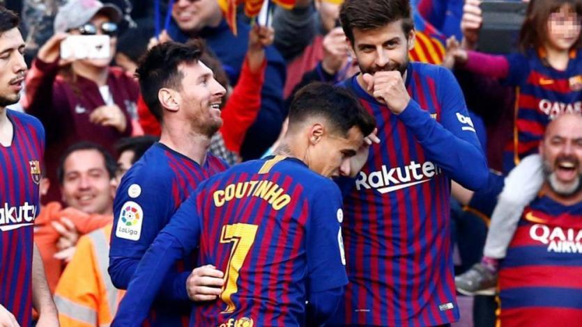Barcelona venció 2-0 a Espanyol con doblete de Lionel Messi y quedó a nada del título (VIDEO)