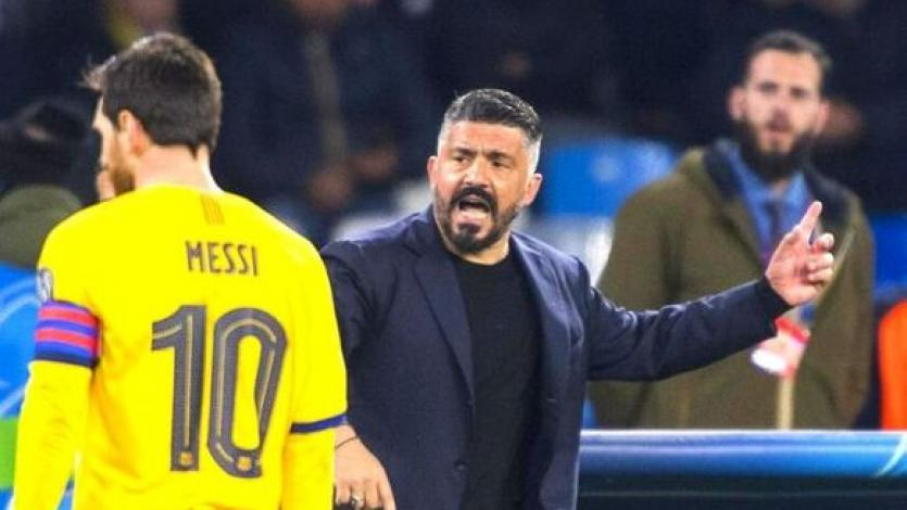 Gennaro Gattuso sobre Lionel Messi: