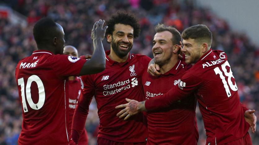 Premier League: Liverpool goleó con partidazo de Mané y Salah