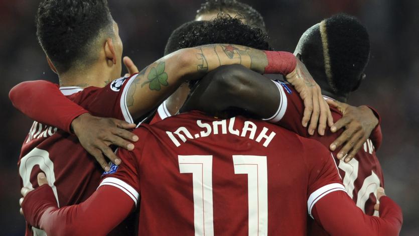 Champions League: El tridente Salah-Mané-Firmino iguala a la BBC