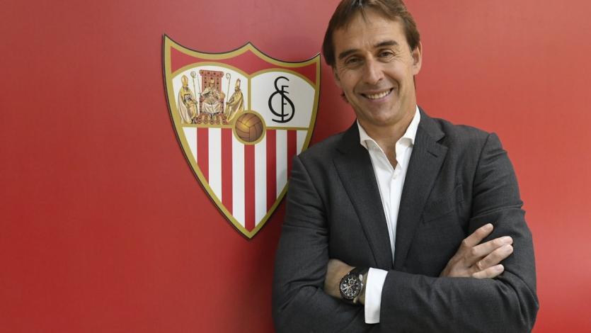 Julen Lopetegui es el nuevo entrenador del Sevilla