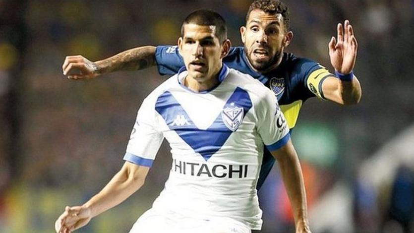 Luis Abram y Vélez empataron con Boca sin goles