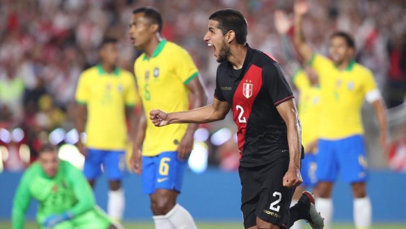 ¡La revancha! Perú venció 1-0 a Brasil en Los Ángeles con gol de Luis Abram a los 84 minutos