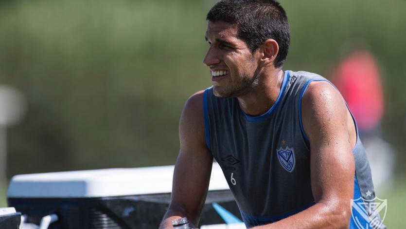 Luis Abram debutó de forma oficial con Vélez