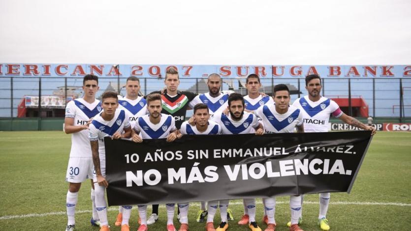 Luis Abram tuvo acción en empate de Vélez Sarsfield