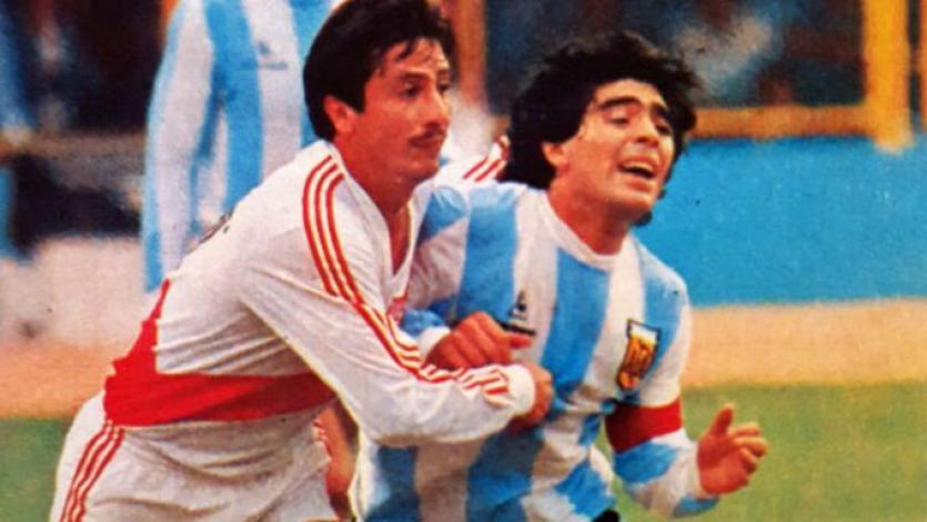 Selección Peruana: se cumplen 35 años de la marca personal de Luis Reyna a Diego Maradona