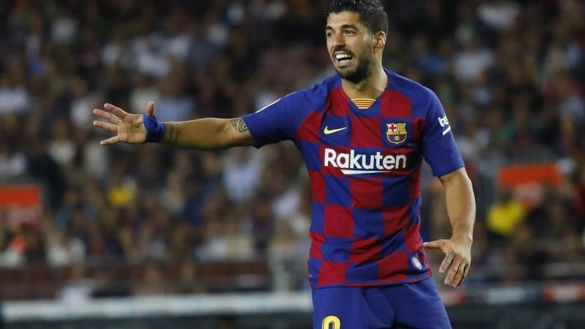 Atlético de Madrid anunció la contratación de Luis Suárez