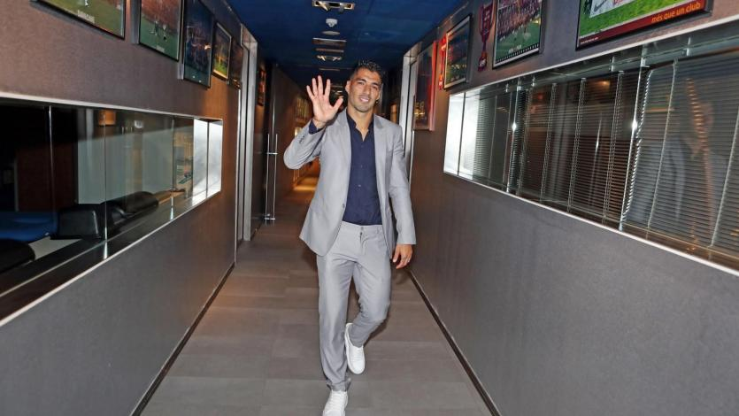 Luis Suárez le dijo adiós al Barcelona: