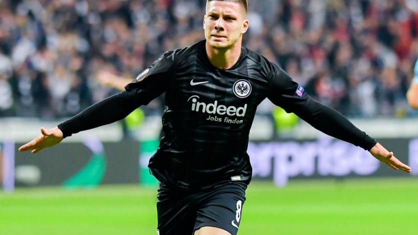 Luka Jovic tendría todo acordado para ser nuevo delantero del Real Madrid