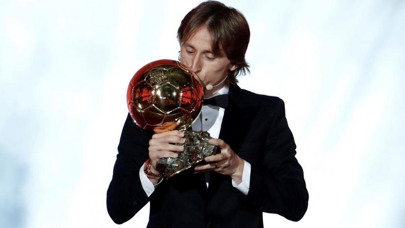 Luka Modric ganó el Balón de Oro 2018