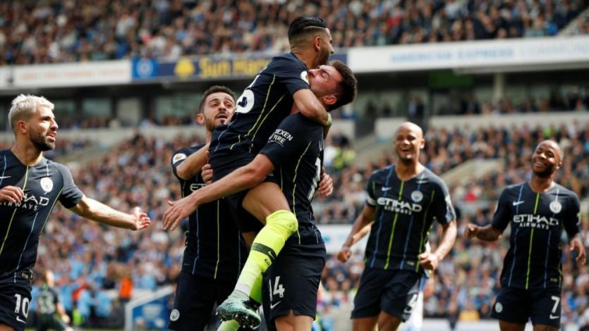 Manchester City goleó 4-1 al Brighton y es campeón de la Premier League (VIDEO)