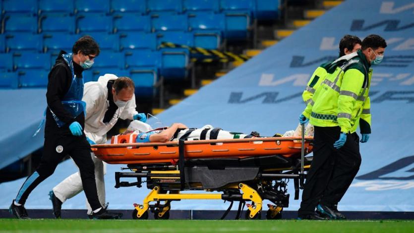Manchester City: el español Eric García abandona el hospital