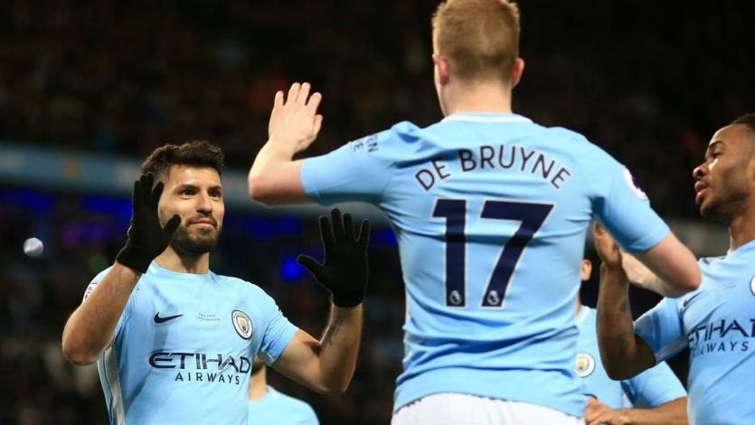 Premier League: Agüero anota un 'póker' en nueva goleada del Manchester City