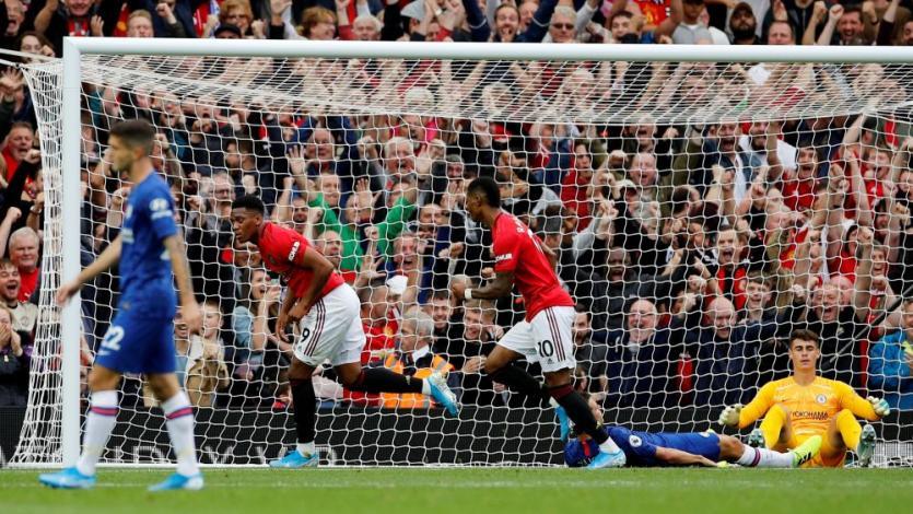 Premier League: Manchester United goleó sin piedad 4-0 al Chelsea en la primera fecha (VIDEO)