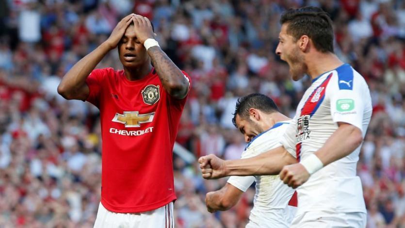 Manchester United sufrió batacazo en Old Trafford tras caer 2-1 con Crystal Palace (VIDEO)