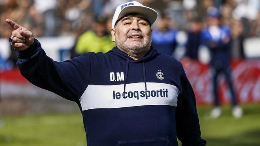 Maradona no sabe si seguirá en Gimnasia y Esgrima de La Plata