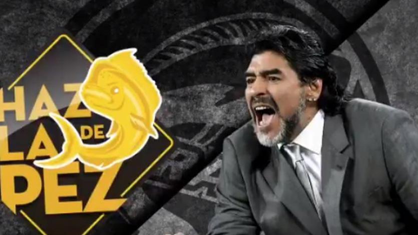 Diego Armando Maradora es el nuevo entrenador de los Dorados de Sinaloa