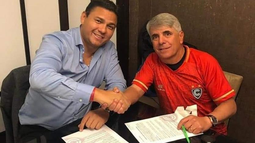 Marcelo Grioni renovó contrato con Cienciano y lo dirigirá en la Liga1 Movistar 2020