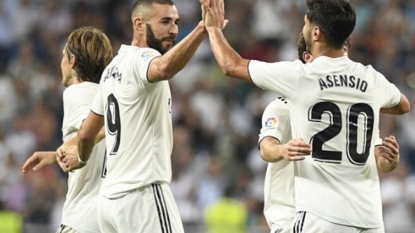 Marco Asensio comanda la victoria del Real Madrid