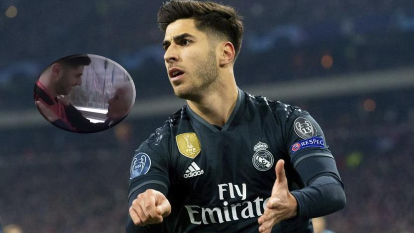 Real Madrid: Marco Asensio y la emocionante despedida de su abuela (VIDEO)