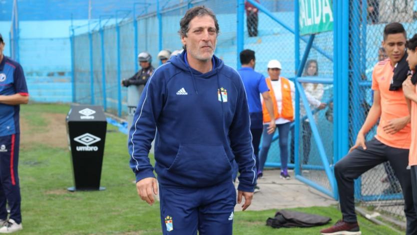 Sporting Cristal confirmó la salida de Mario Salas