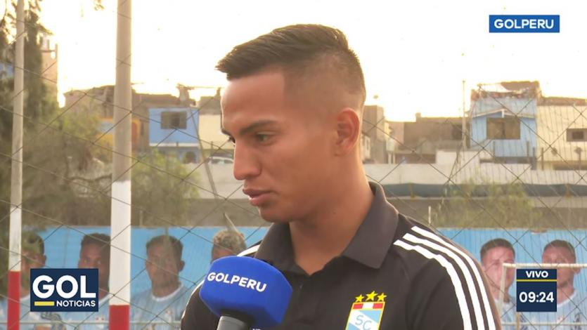 Martín Távara sobre el año de Sporting Cristal: