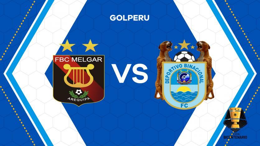 Copa Bicentenario: Melgar recibe a Deportivo Binacional por la primera fecha