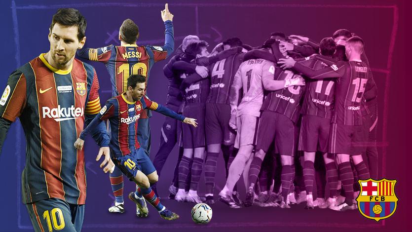 Barcelona: así jugó Lionel Messi en la emocionante victoria en la Copa del Rey