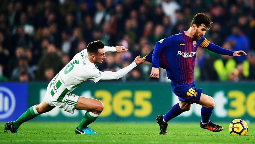 Barcelona apabulló 5-0 a Real Betis