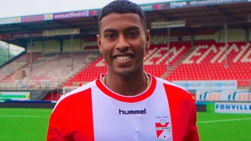 Pase y gol: la espléndida asistencia de 40 metros brindada por Miguel Araujo en el triunfo del FC Emmen (VIDEO)