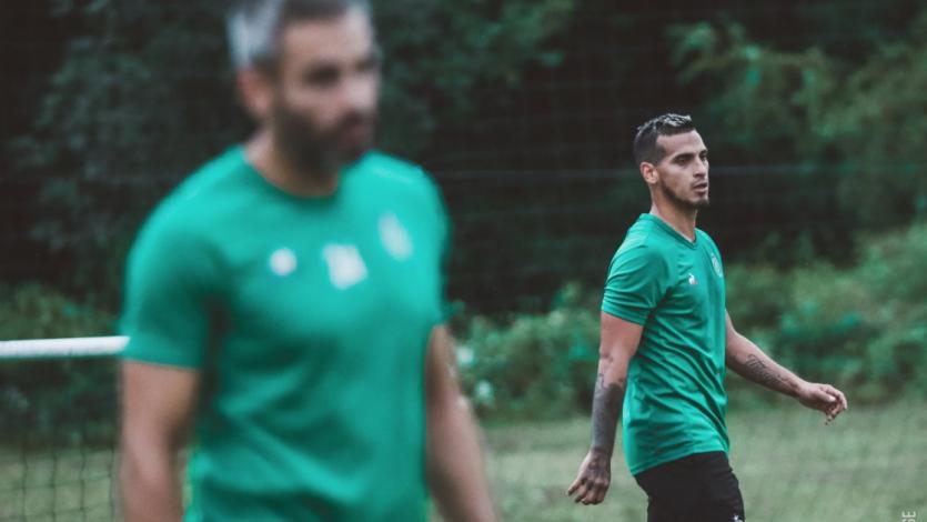 Miguel Trauco: así fue su primer entrenamiento con el Saint-Étienne (FOTOS)