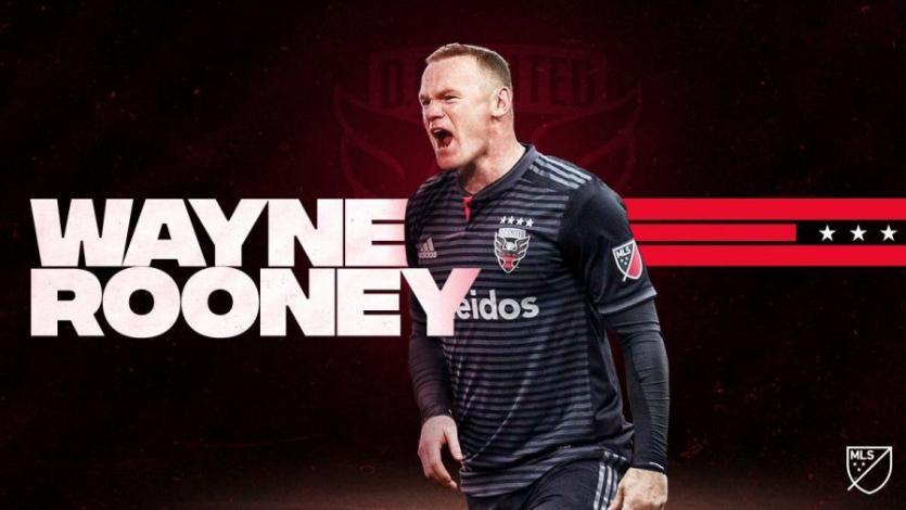 Wayne Rooney jugará en el DC United de la MLS