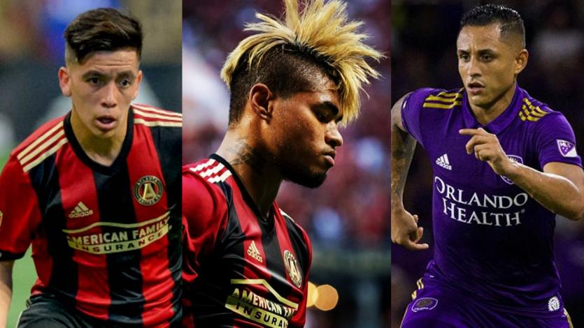 MLS: Yoshimar Yotun y los 11 latinos que están en el 'equipo de las estrellas'