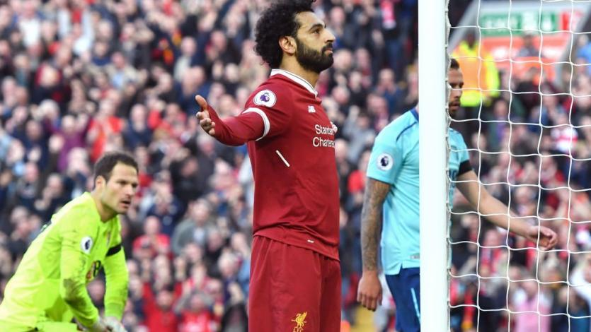 Mohamed Salah llegó a los 30 goles en Premier League