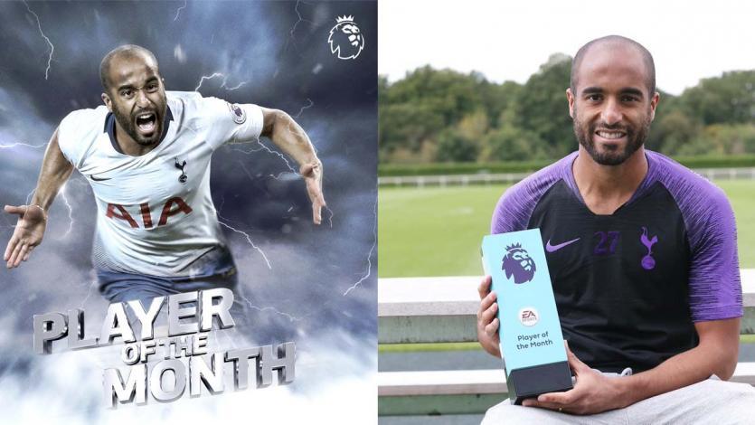 Premier League: Lucas Moura ganó el premio 'Jugador del Mes'