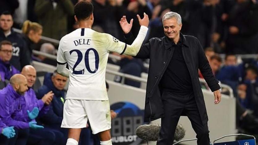 Tottenham: la charla motivadora de José Mourinho con Dele Alli (VIDEO)