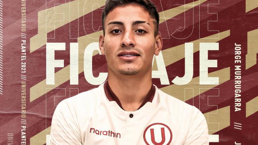 Universitario: Jorge Murrugarra es el segundo fichaje para el 2021