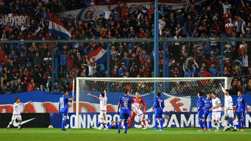 Nacional eliminó a Sol de América en la Copa Sudamericana