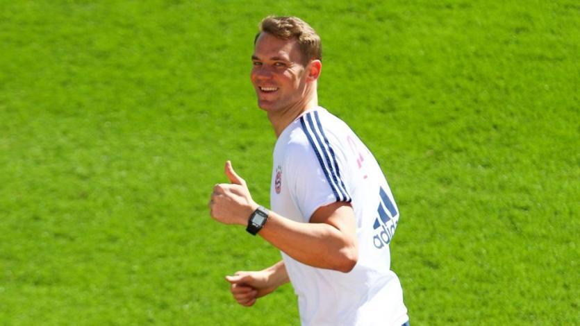 Manuel Neuer sigue recuperándose para llegar al Mundial
