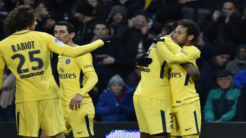 Neymar conduce al PSG a su sexto triunfo consecutivo